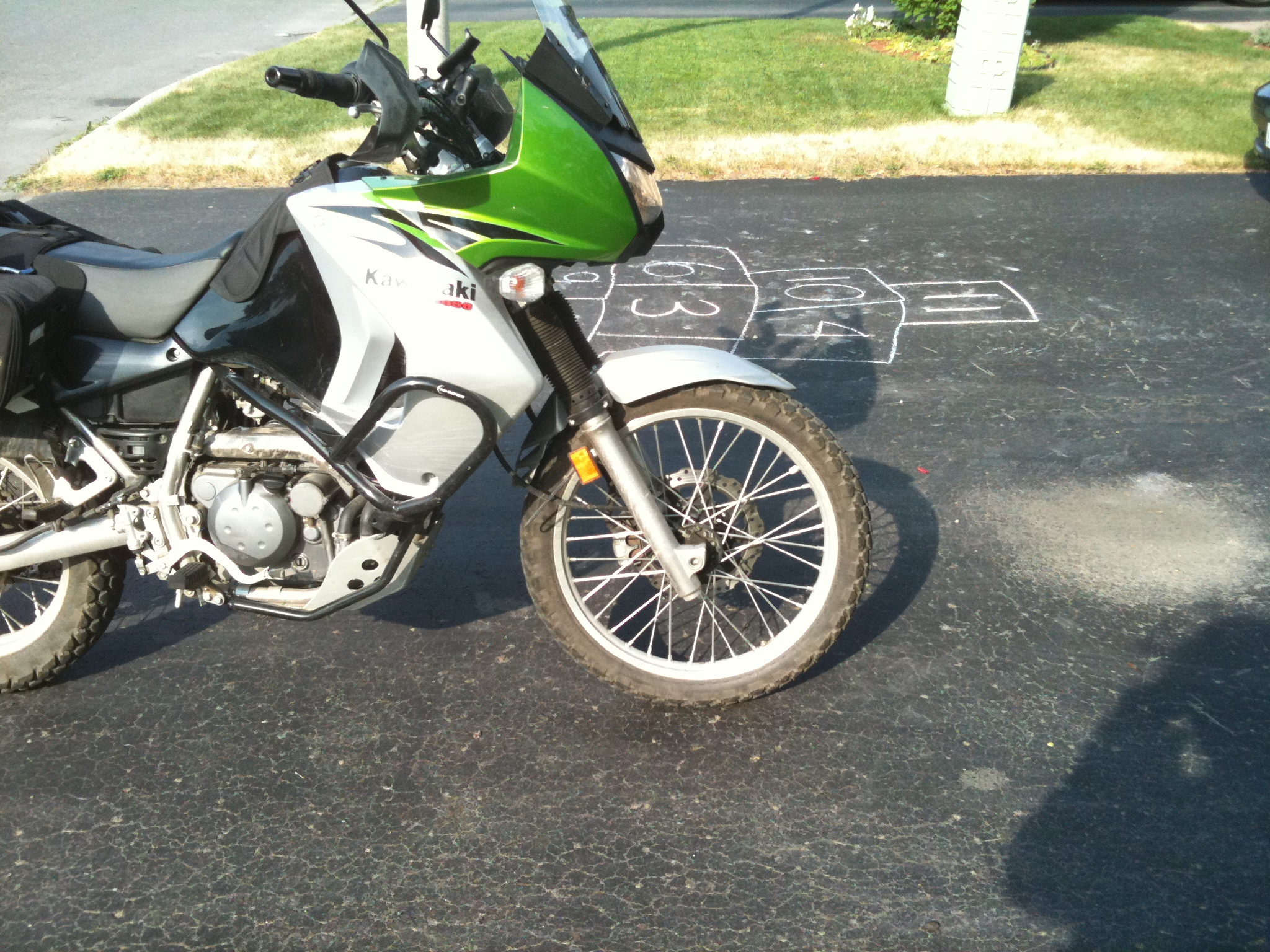 Lowering A Kawasaki Klr